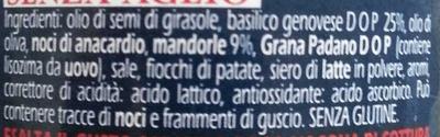 Pesto alle mandorle - Ingredients - it