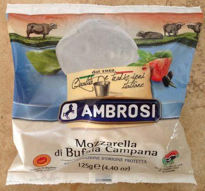 Mozzarella di Bufala Campana AOP (20% MG) - Produit - fr