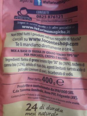 le farine magiche - Ingredients - it