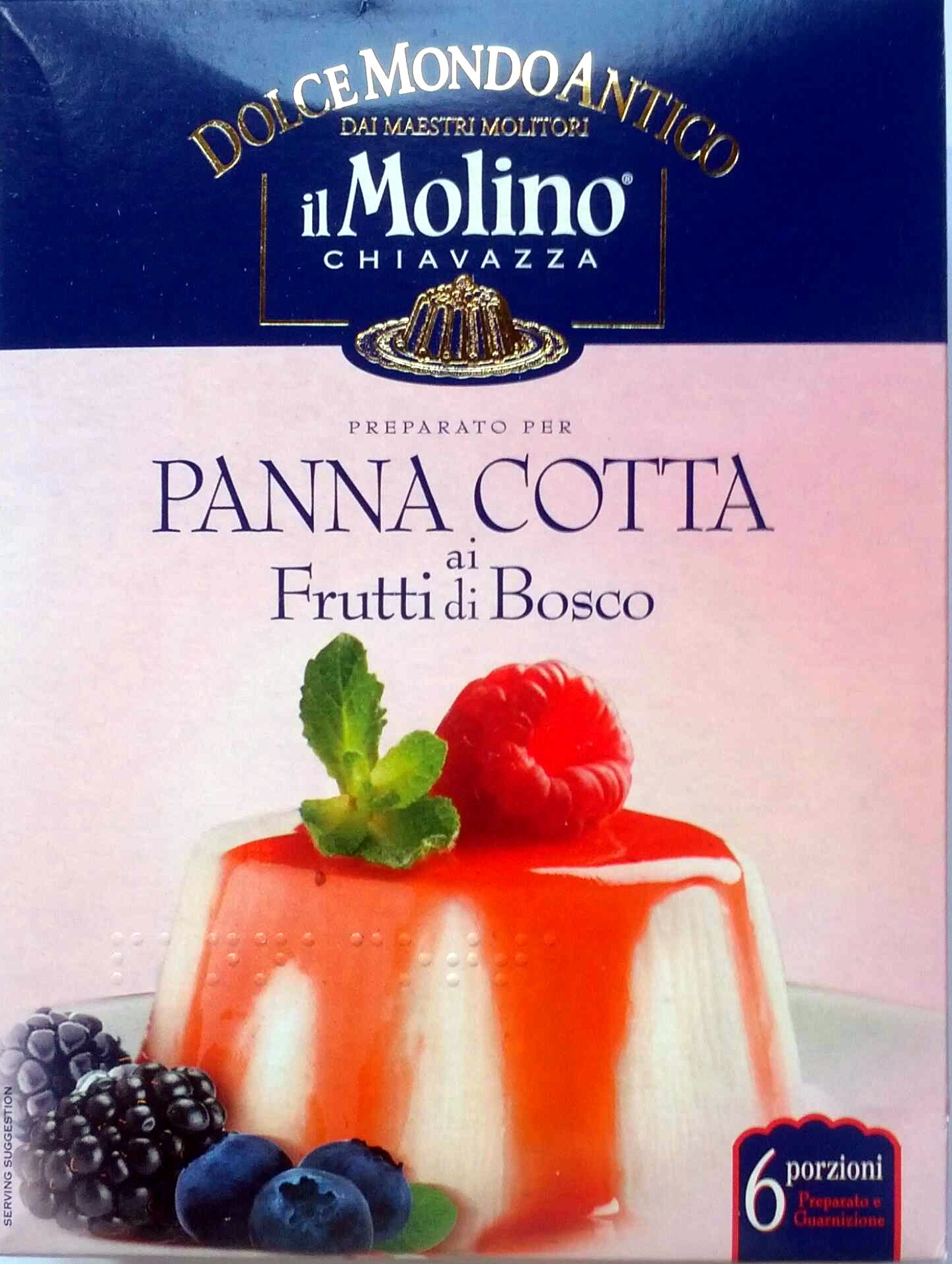 Preparato per Panna Cotta ai Frutti di Bosco - Product