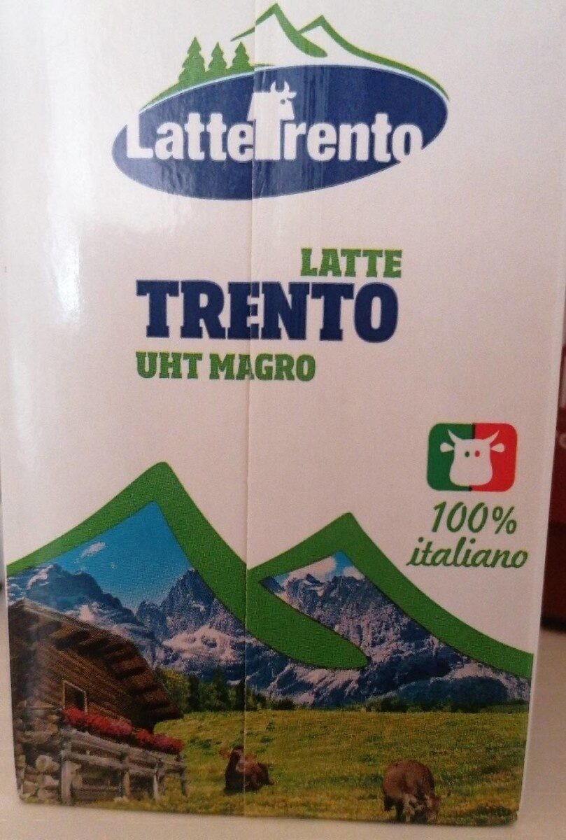 Latte Trento UHT magro - Product - en