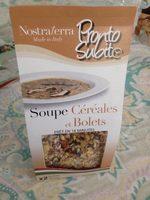 Soupe cereales et bolets - Produit - fr