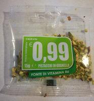 Pistacchi in granella - Prodotto