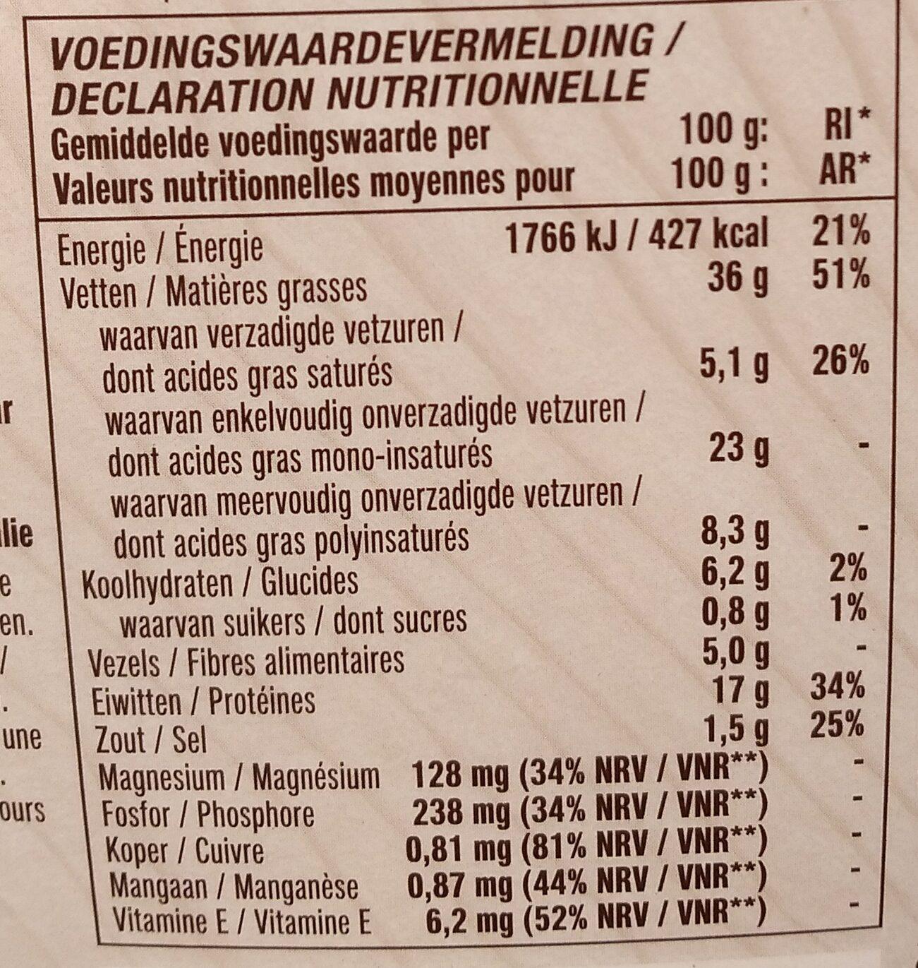 Cicioni - Nutrition facts - nl