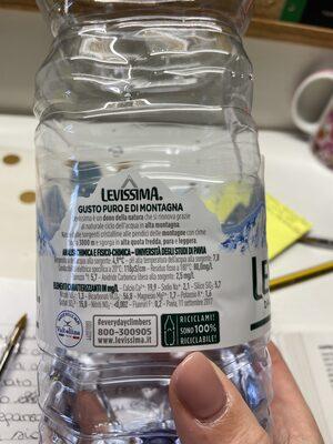 Eau naturel - Istruzioni per il riciclaggio e/o informazioni sull'imballaggio - it