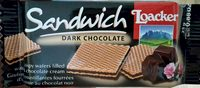 Sandwich dark chocolate - Produit - ro