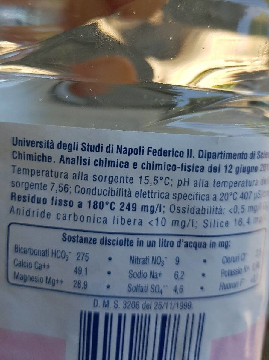 guizza - Nutrition facts - en