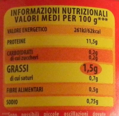 Simmenthal - Información nutricional