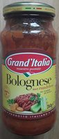 Bolognese met rundvlees - Product