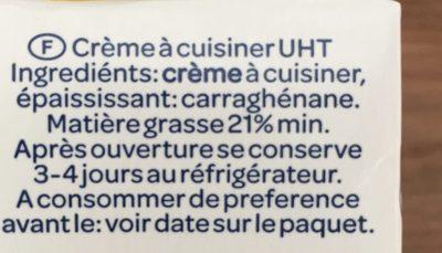Chef Panna - Ingredients - fr