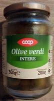 Olive verdi intere - Produit