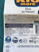Thunfisch Naturale - Product