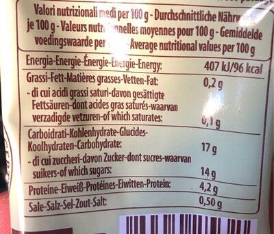 DOUBLE CONCENTRE - Valori nutrizionali - fr
