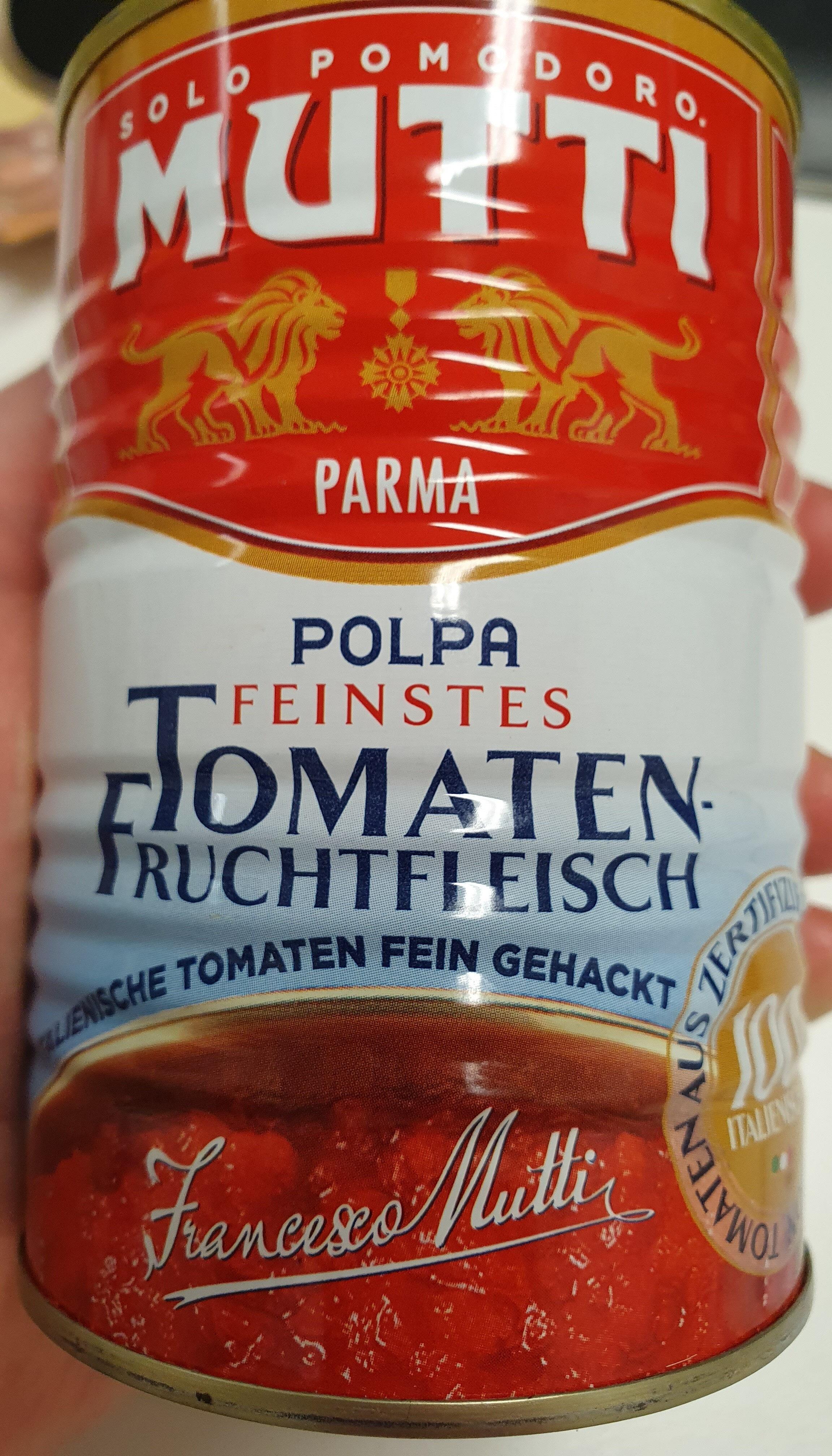 Mutti Polpa Tomatenfruchtfleisch - Product - de