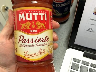 Mutti passata - Product - en