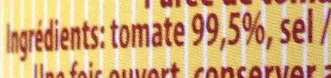 Passata di pomodoro - Ingrédients
