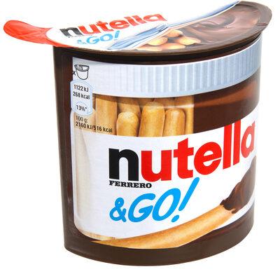 Nutella & Go ! Pâte à tartiner et gressins - Produkt - fr