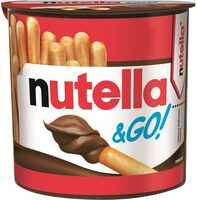 NUTELLA & GO biscuits - Product - fr