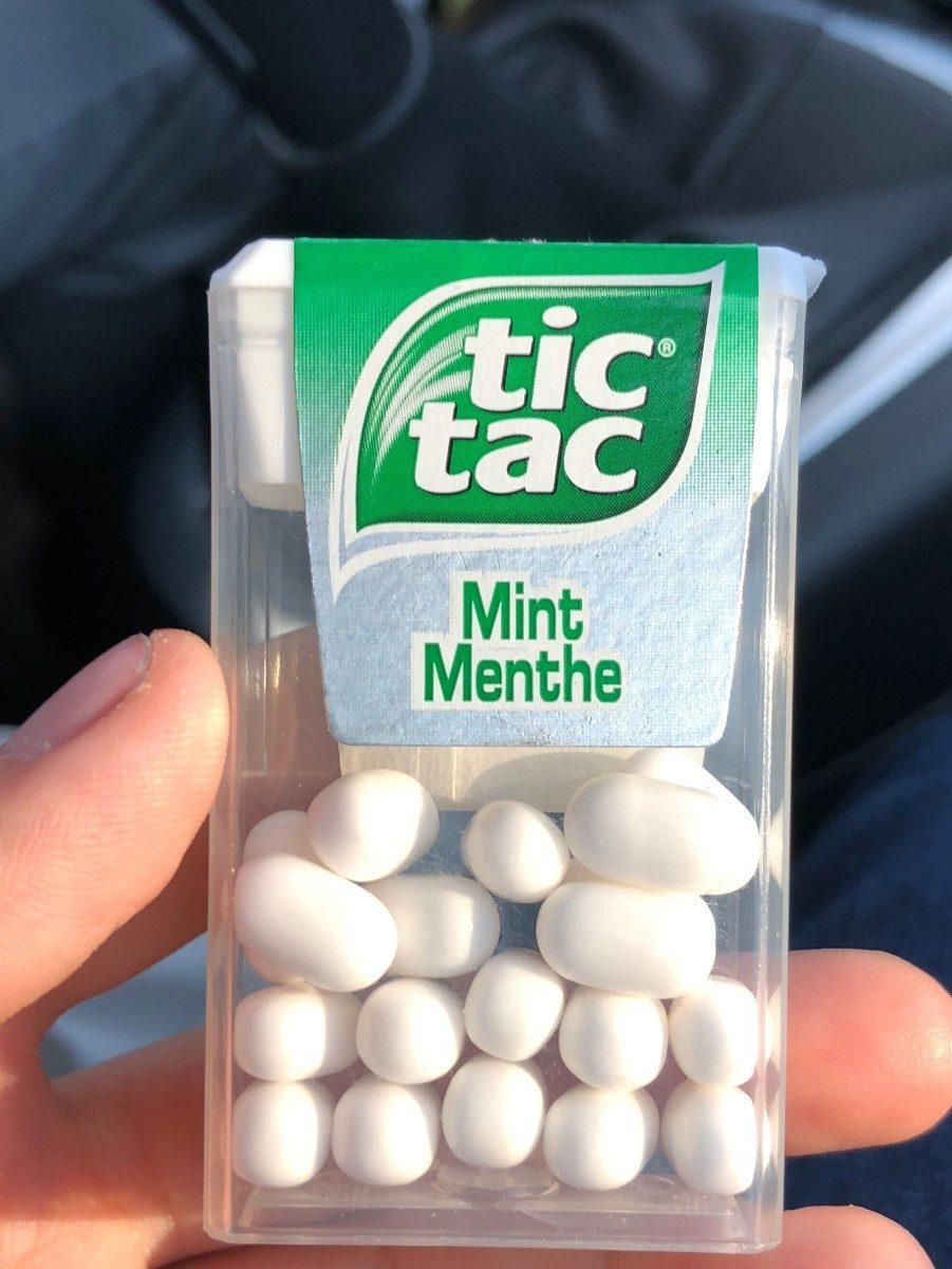 Tic tac - Produit