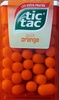 Tic Tac orange - Produit