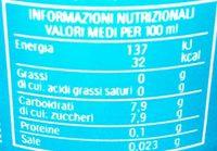 EstaThe - Nutrition facts