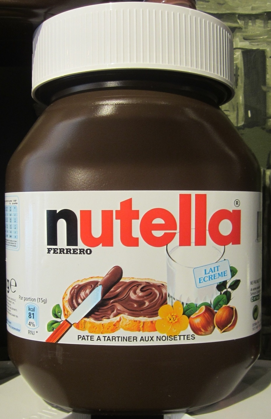 nutella ferrero 5 kg. Black Bedroom Furniture Sets. Home Design Ideas