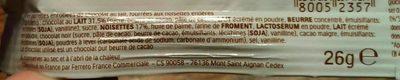Duplo Chocnut - Ingrédients - fr