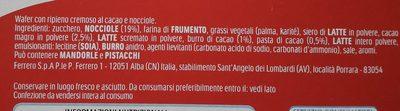 Tronky Nocciola Singolo - Ingredients - it