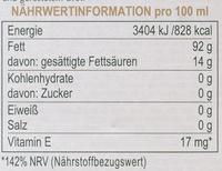GranFruttato - Nutrition facts