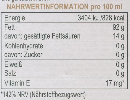 GranFruttato - Voedingswaarden - de