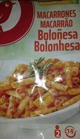 Macarones boloñesa - Producte - es