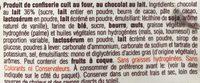 Cookie Chocolate Chunk Milk Chocolate - Ingrediënten - fr