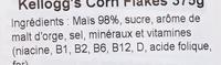 Corn Flakes - Ingredientes - it