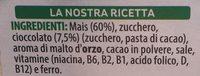 Kellogg's Corn Flakes Cioccolato GR 375 - Ingrediënten - fr