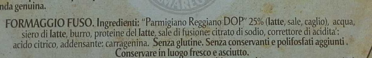 Formaggini al parmigiano - Ingrediënten