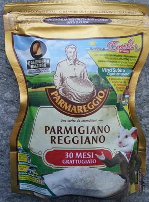 Parmareggio - Parmigiano reggiano DOP 30 mesi grattugiato - Product