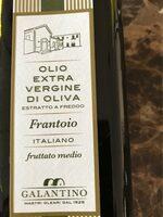 Olio extra vergine di oliva - Nutrition facts