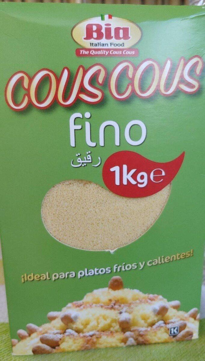 Couscous fino - Producto - es