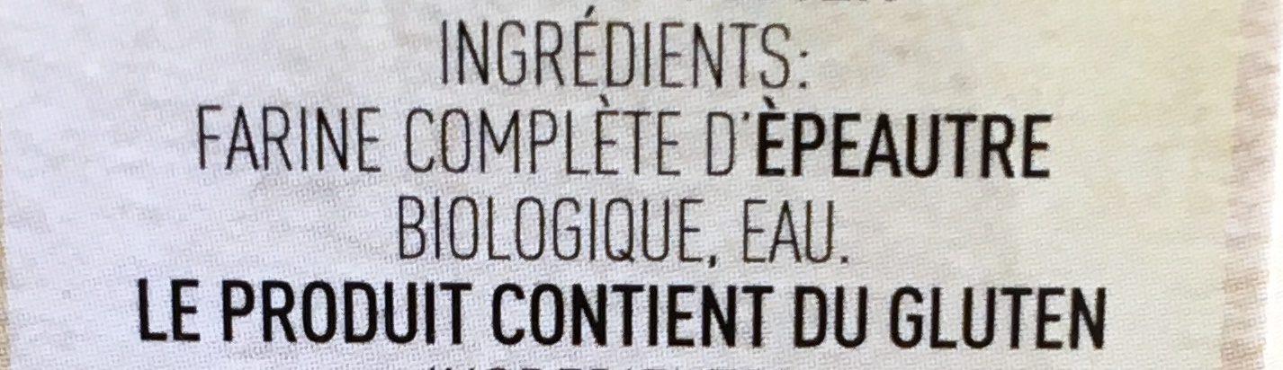 Couscous Di Farro 500g - Ingredients - fr
