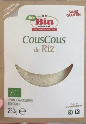 Couscous de Riz Bio - Product