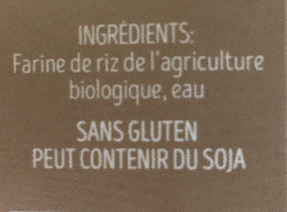 Couscous de Riz Bio - Ingredients - fr