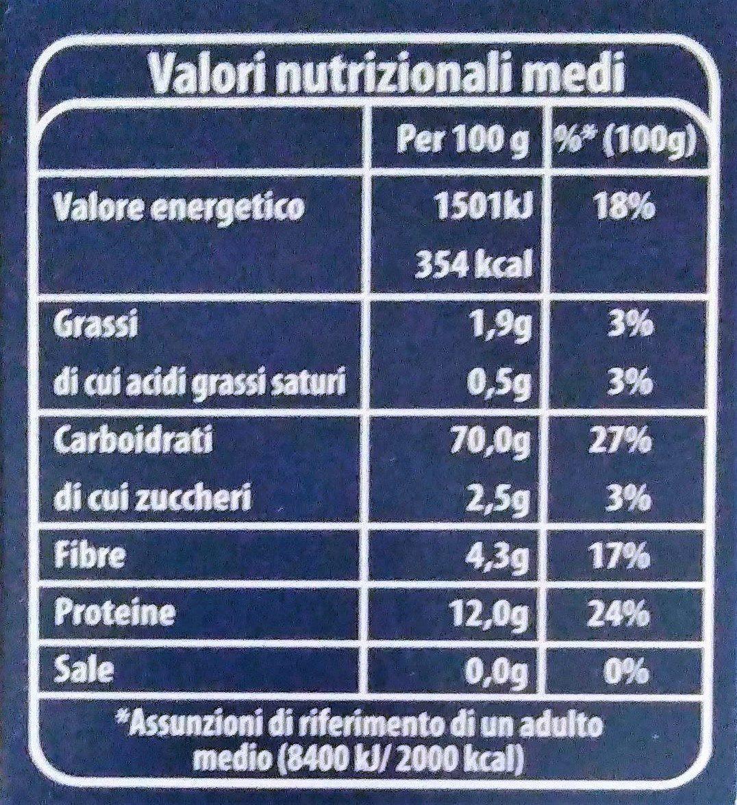 Cous Cous - Nutrition facts - it