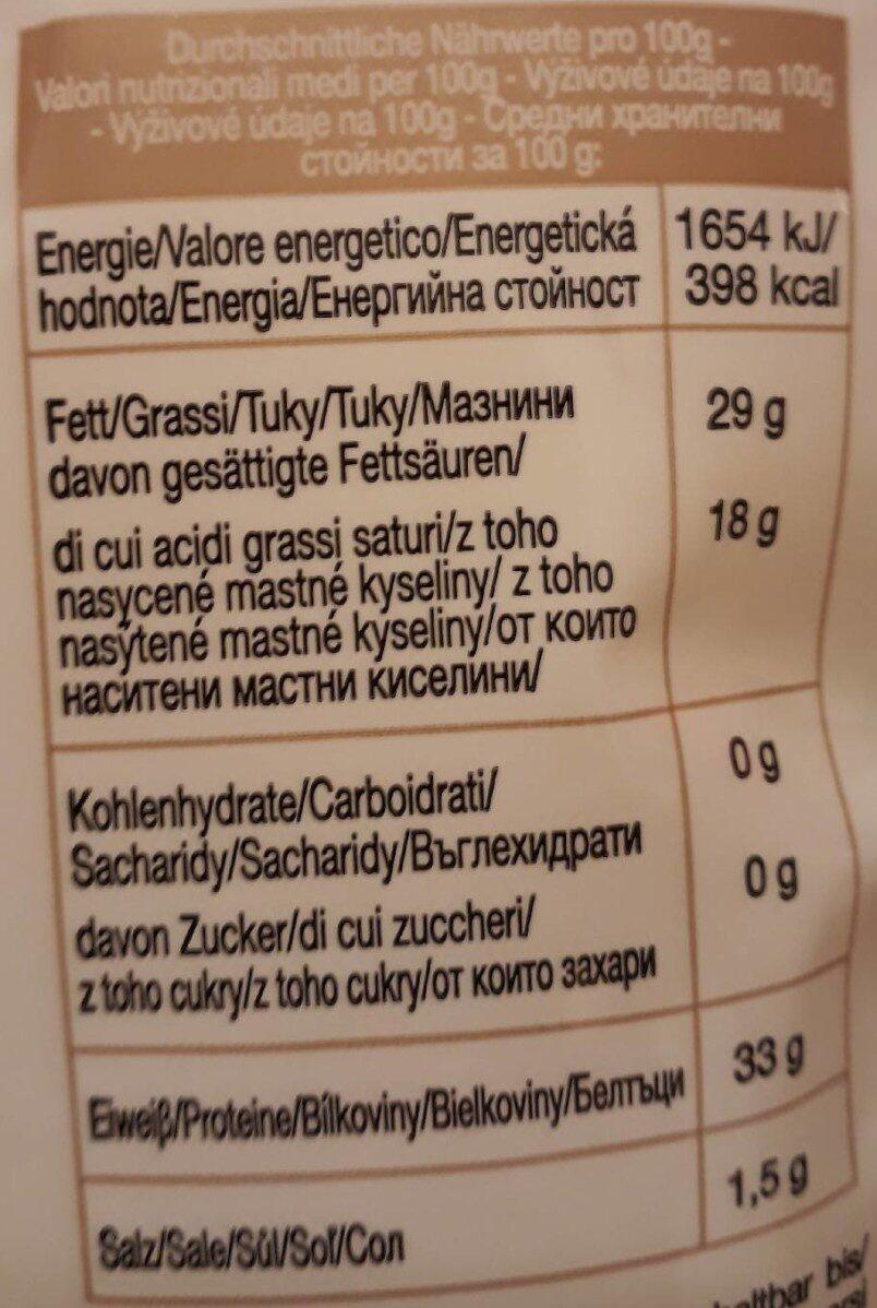 Grana Padano Flakes - Informations nutritionnelles - de