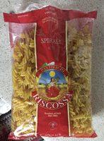 Riscossa Spirali Pasta 0G No. - Product