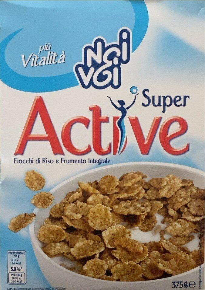 Super Active Fiocchi di riso e frumento - Product - it