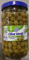 olive verdi snocciolate in salamoia - Product - it
