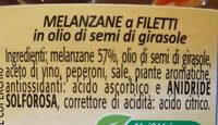 melanzane a filetti - Ingrediënten - it