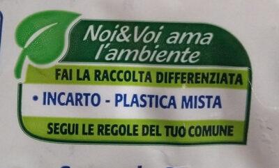uva sultanina - Recyclinginstructies en / of verpakkingsinformatie - it