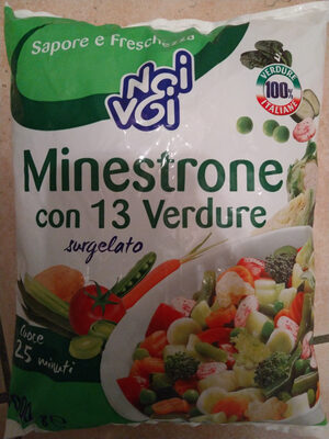 minestrone con 13 verdure surgelato - Product - it