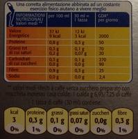 Cialde 100% Arabica - Nutrition facts - it